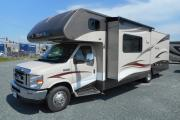 Traveland RV Rentals Ltd 31' Class C Bunk Model rv rental canada