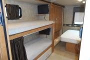 Traveland RV Rentals Ltd 31' Class C Bunk Model motorhome rental vancouver
