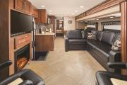 Motor Home Travel Canada Inc MHLUX 37' Class A with Slideouts motorhome rental canada