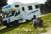 Cheapa Campa NZ Domestic Cheapa 4 Berth motorhome rental new zealand