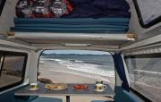Comet Campers NZ Hitop Campervan motorhome rental new zealand