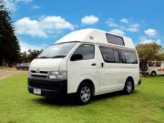 Comet Campers NZ Hitop Campervan new zealand camper hire