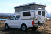 Europcar Motorhome Rentals IS Toyota Hilux 4x4 camper - Group X worldwide motorhome and rv travel