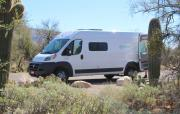 Campervan North America Bunkhouse cheap motorhome rental las vegas