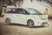 Spaceships AU Beta 2 Berth australia campervan hire