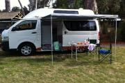 2 - 3 Berth Hi Top Camper campervan hire - australia