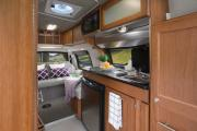 Owasco RV Rental Deluxe Van Conversion motorhome rental canada