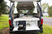 Happy Campers NZ Happy Black Sheep Sleeper campervan hire christchurch
