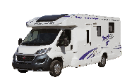4 Berth Voyager motorhome rental - uk