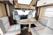 Just Go Motorhomes UK 4 Berth Voyager motorhome rental uk
