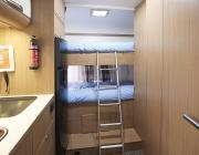 Abacus Motorhomes UK Sunliving A45 DK rv rental uk