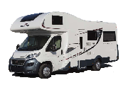 Just Go Motorhomes UK 5 Berth Trekker motorhome rental united kingdom
