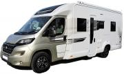 4 Berth Champagne campervan rental new zealand