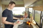 Britz Campervan Rentals NZ (Domestic) 4 Berth Discovery worldwide motorhome and rv travel