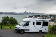 Britz Campervan Rentals NZ (Domestic) 4 Berth Discovery new zealand airport campervan hire