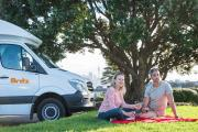 Britz Campervan Rentals (Intl) 4 Berth Discovery campervan rental new zealand