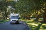Britz Campervan Rentals AU (Domestic) 4 Berth Discovery motorhome rental perth