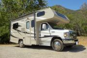 19- 22 ft Class C Non-Slide Motorhome camper rental denver