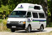 Budget 4+1 Finder campervan hire - new zealand