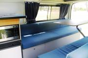 Camperman Australia AU Juliette 5 HiTop (All Inclusive Rate) $500 EXCESS australia airport motorhome rental