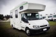 Happy Kea 4 new zealand airport campervan hire