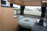 Happy Campers NZ Happy Kea 4 campervan hire auckland
