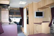 Walkabout Motorhomes NZ 6 Berth  Luxury Mitsubishi Fuso campervan hire christchurch