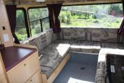 Walkabout Motorhomes NZ 6 Berth  Luxury Mitsubishi Fuso motorhome rental new zealand