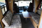 6 Berth  Luxury Mitsubishi Fuso campervan hire - new zealand