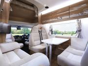 Abacus Motorhomes UK Swift Kontiki 649 motorhome rental uk