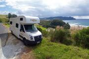 Mighty Campers NZ International 6 Berth Big Six new zealand airport campervan hire