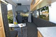 Pacific Horizon Travel Homes 2+1 Berth Premium Campervan motorhome rental new zealand