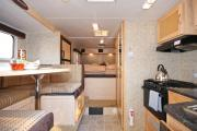 Fraserway RV Rentals TC-S (Truck Camper with Slideout) motorhome rental ontario