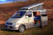 Big Tree Campervans 4 Berth - Elevating Roof motorhome rental uk