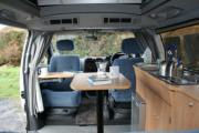 Big Tree Campervans 4 Berth - Elevating Roof motorhome rental united kingdom