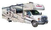 El Monte RV Market FS31 Class C Motorhome Slide-out rv rental usa