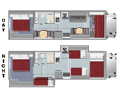 Compass Campers USA (International) FS31 Class C Motorhome with Slide motorhome rental usa