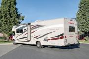Compass Campers USA FS31 Class C Motorhome Slide-out rv rental san francisco
