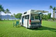 Camperman Australia AU Maxie 3 HiTop (All Inclusive Rate) $500 EXCESS motorhome rental brisbane