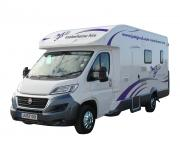 Just Go Motorhomes UK 4 Berth Discovery rv rental uk