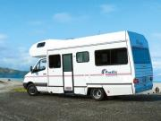 6 Berth SAM Premium campervan hire - new zealand