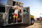 Escape Rentals USA 2 - 4 Berth Mavericks Campervan usa airport motorhomes