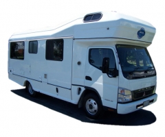 Budget 6-Berth new zealand airport campervan hire