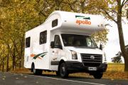 Apollo Motorhomes AU Domestic Euro Deluxe 6 campervan hire sydney