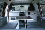 Sleepavanz 2 Berth Hiace campervan hire christchurch