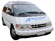 Awesome Campers Awesome Deluxe Camper australia airport motorhome rental