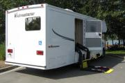 MH 27SW - Wheelchair Accessible motorhome rentalcalgary