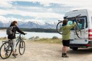 Britz Campervan Rentals (Intl) 2 Berth - Venturer campervan rental new zealand