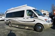 Traveland RV Rentals Ltd Era Van (Mercedes) motorhome rental vancouver