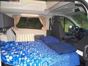 Flamenco Campers Juana campervan rental spain